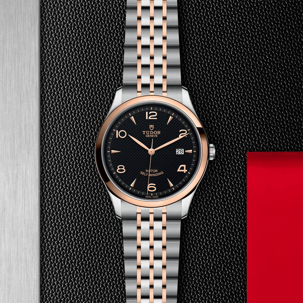 Tudor 1926 Stainless Steel Gold Black 41mm Gents Automatic
