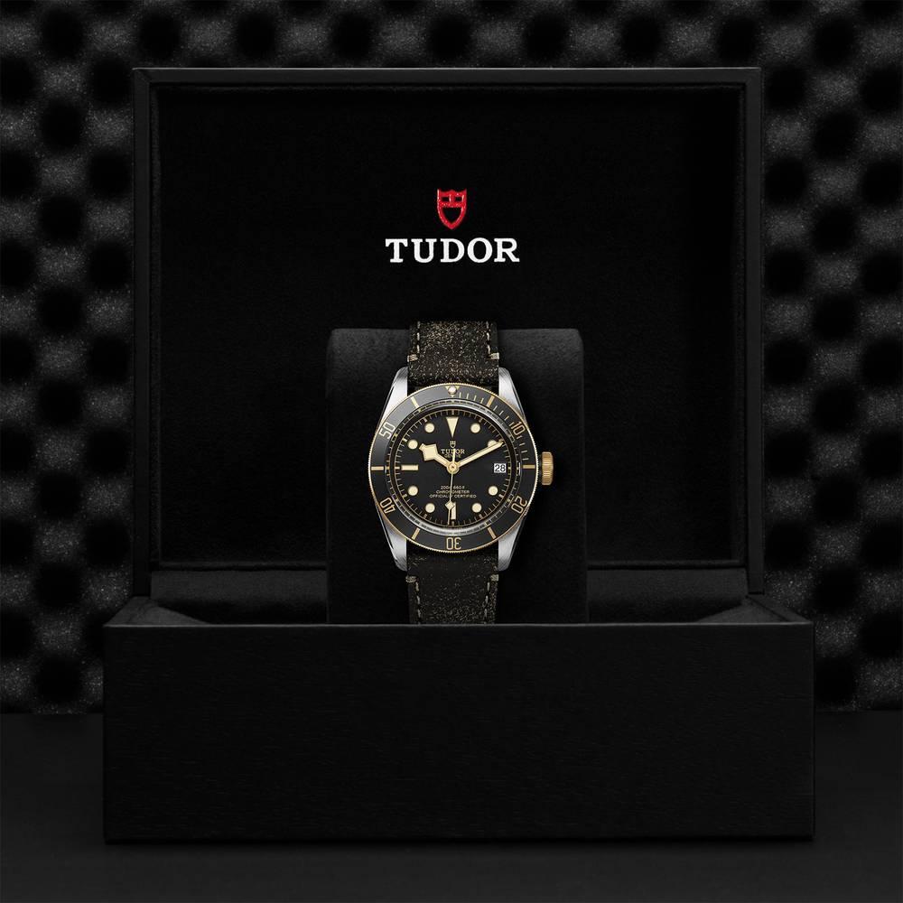 Tudor Black Bay S&G Leather Black 41mm Gents