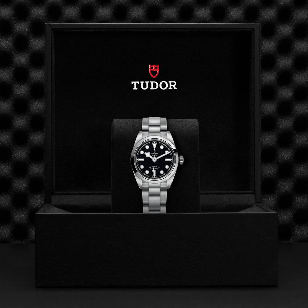 Tudor Black Bay 32 Stainless Steel Black Ladies Automatic