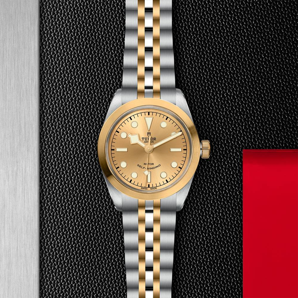 Tudor Black Bay 36 S&G Stainless Steel, Gold Champagne Gents Automatic