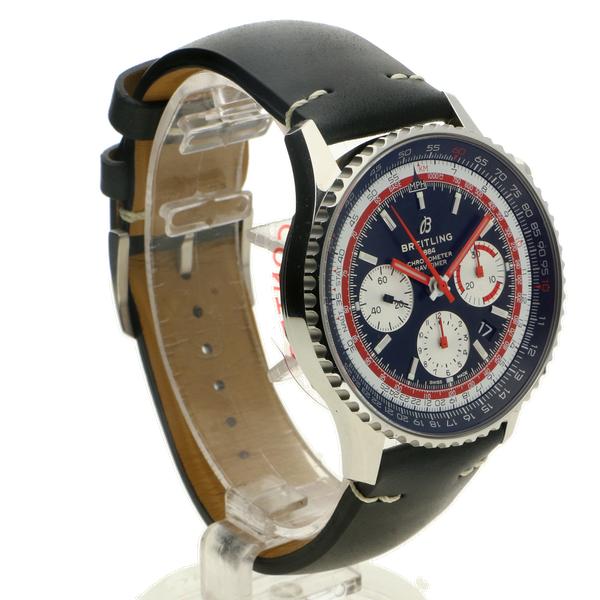 Breitling Navitimer 1 B01 Chronograph 43 Swissair Edition Folding Clasp