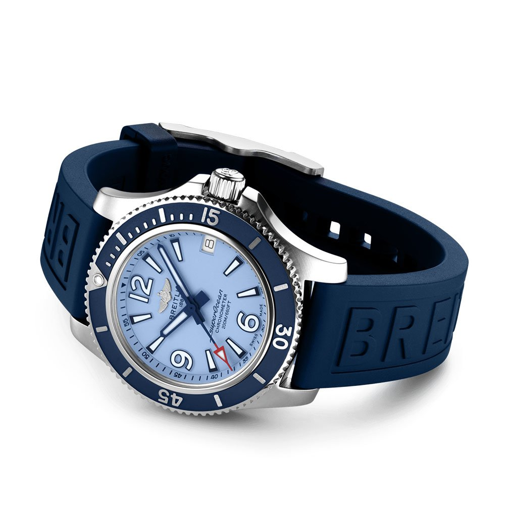 Breitling Superocean Automatic 36 Tang Clasp