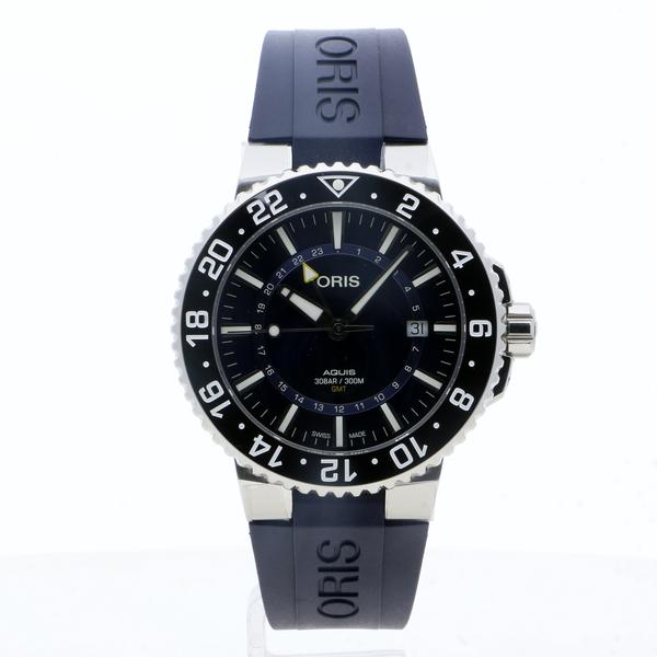 Oris Aquis GMT Date