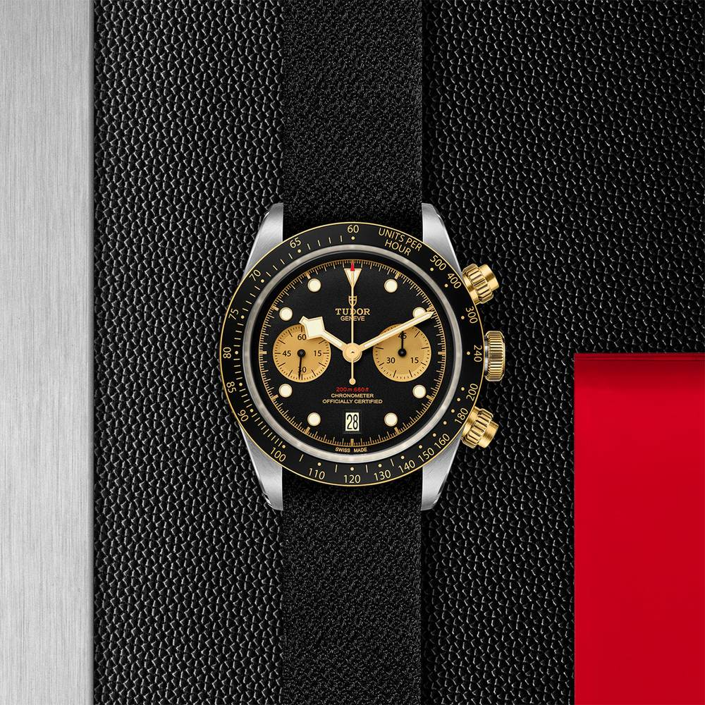 Tudor Black Bay Chrono S&G Fabric Black 41mm Gents