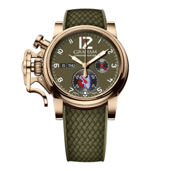 Graham Chronofighter Vintage Overlord 75th Anniversary
