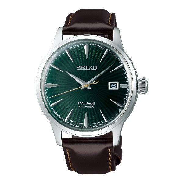 Seiko Presage Steel Green