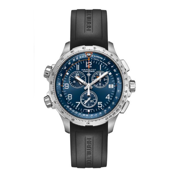 Hamilton Khaki Aviation X-Wind GMT Chrono Quartz