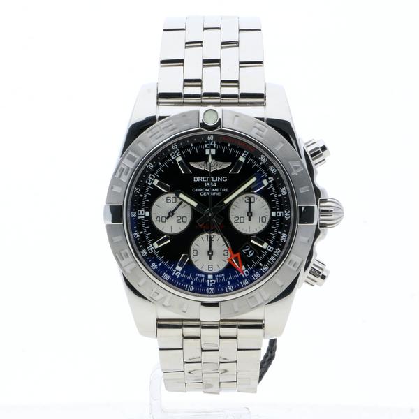 Breitling Chronomat 44 GMT Black Stainless Steel