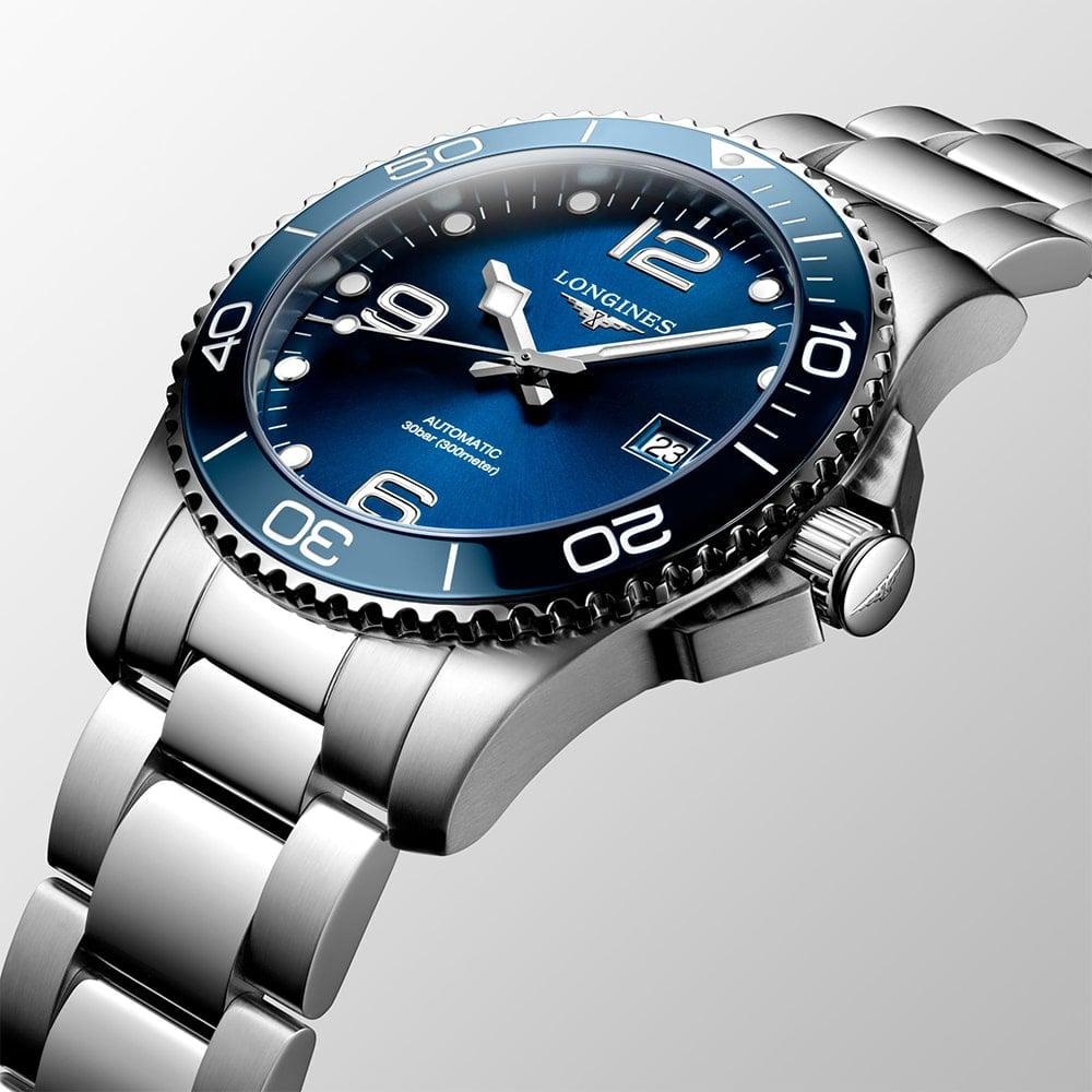 Longines Hydroconquest Automatic Blue Dial Steel & Ceramic
