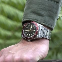 Tudor Black Bay Swiss Dive Stainless Steel Black 41mm Gents