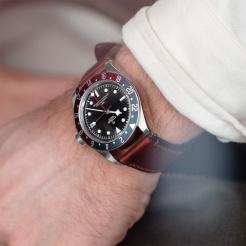 Tudor Black Bay GMT Leather Black 41mm Gents Automatic