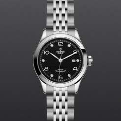 Tudor 1926 Stainless Steel Black 28mm Gents
