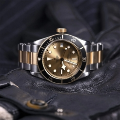 Tudor Black Bay S&G Stainless Steel, Gold Gold 41mm Gents