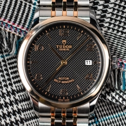 Tudor 1926 Stainless Steel Gold Black 41mm Gents