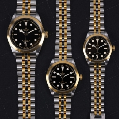 Tudor Black Bay 36 S&G Stainless Steel, Gold Black 36mm Gents