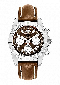 Breitling Chronomat 41 Bronze Leather (Calf) Tang Type