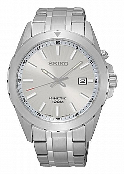 Seiko Kinetic Silver