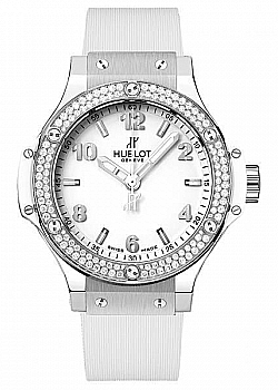 Hublot Big Bang Stainless Steel White Diamonds