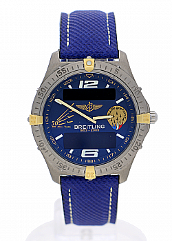 Breitling Aerospace Patrol De France Limited Edition Tang-Type (530)