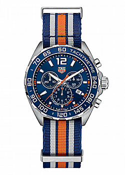 TAG Heuer Formula 1 Chronograph Blue Fabric