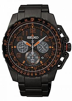 Seiko Prospex Solar Chronograph Flight Computer