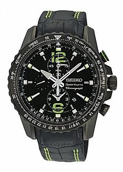 Seiko Sportura Aviation Alarm Chronograph