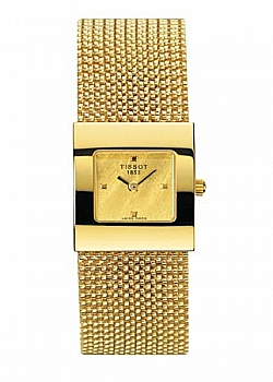 Tissot Bellflower Lady 18K Gold