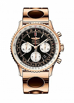 Breitling Navitimer 01 Black Red Gold (Air Racer) Folding Clasp