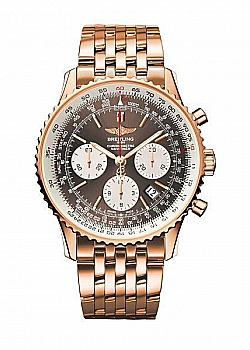 Breitling Navitimer 01 Bronze Red Gold Folding Clasp