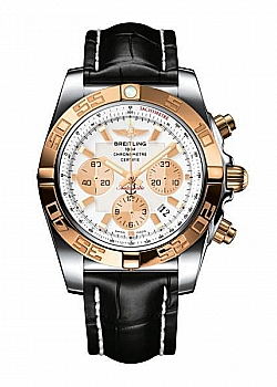 Breitling Chronomat 44 Mother Of Pearl Leather Tang Type