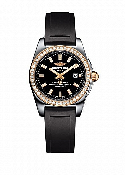 Breitling Galactic 29 Black Rubber (Diver Pro III) Folding Clasp