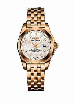 Breitling Galactic 29 Mother Of Pearl Rose Gold (Pilot) Folding Clasp
