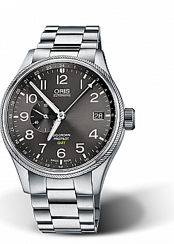 Oris big crown propilot gmt small second