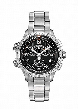Hamilton Khaki X-Wind Chrono Quartz GMT