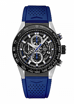 TAG Heuer Carrera 01 Blue Touch Edition