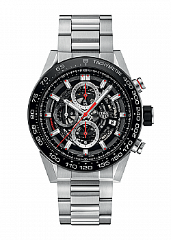 TAG Heuer Carrera 01 Black Stainless Steel