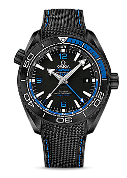 Omega Seamaster Planet Ocean 600m Master Chronometer GMT Deep Black Edition