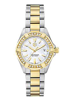 TAG Heuer Aquaracer Ladies Gold