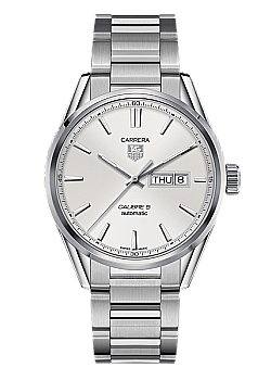 TAG Heuer Carrera Calibre 5 Day-Date White