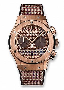 Hublot Classic Fusion Chronograph Italia Independent Prince-de-galles King Gold