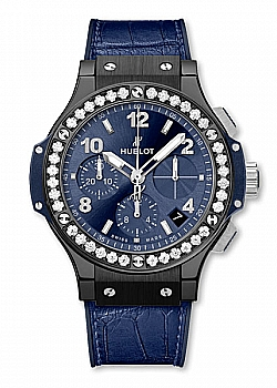 Hublot Big Bang Ceramic Blue Diamonds