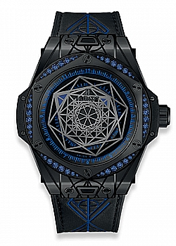 Hublot Big Bang Sang Bleu All Black Blue