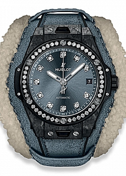 Hublot Big Bang One Click Frosted Carbon Diamonds