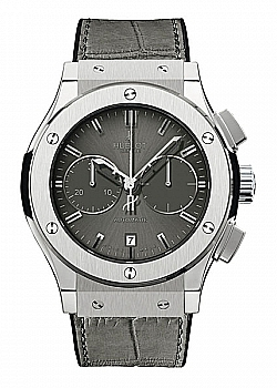 Hublot Classic Fusion Chronograph Titanium Grey