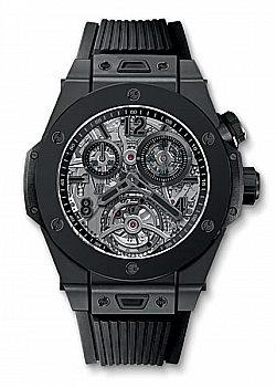 Hublot Big Bang Tourbillon Chronograph Cathedral Minute Repeater All Black