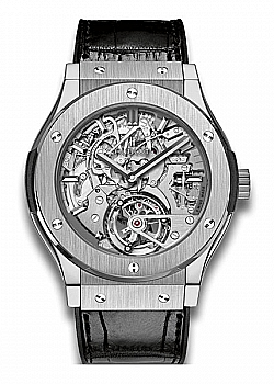 Hublot Classic Fusion Tourbillon Cathedral Minute Repeater Titanium