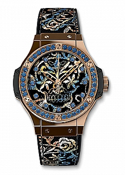 Hublot Big Bang Broderie Sugar Skull Gold (765)