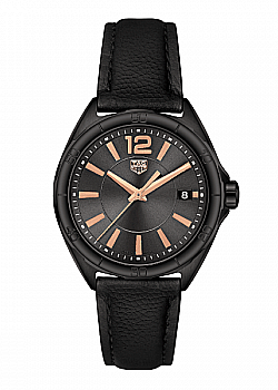 TAG Heuer Formula 1 Black Leather