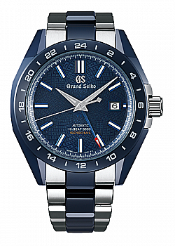 Grand Seiko Hi-Beat 36000 GMT Blue Ceramic Limited Edition