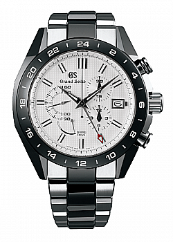 Grand Seiko Ceramic Spring Drive Chronograph GMT